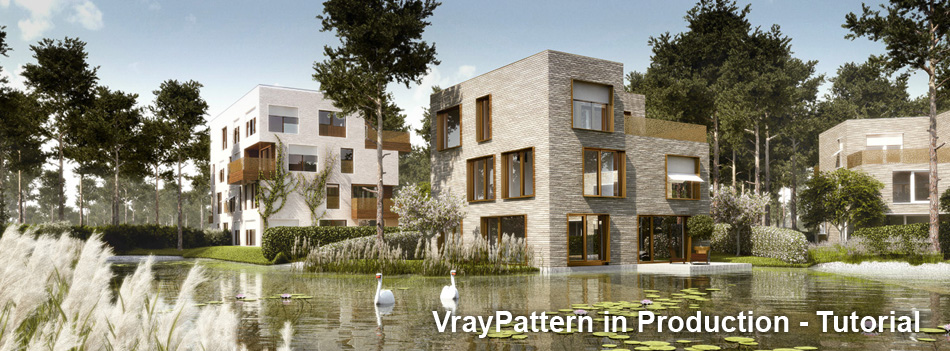 product feature: V-Ray pattern - tutorial and production insight