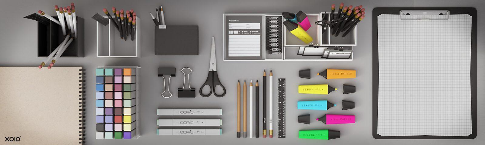 xoio-air | office props - model pack – xoio-air