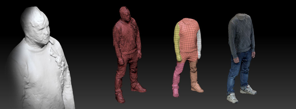 3d-people scanning  - a brief introduction
