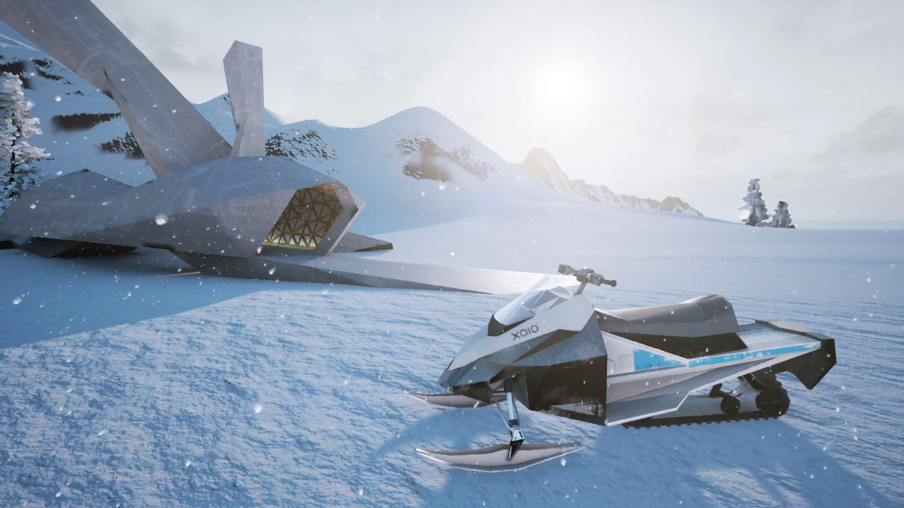 Winter_Chalet_Snow_Speeder_by_xoio