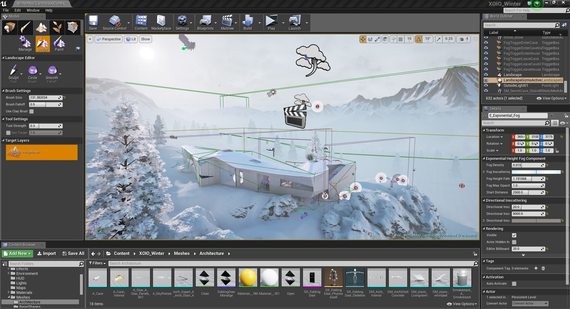 Winter_Chalet_Unreal_Editor_by_xoio