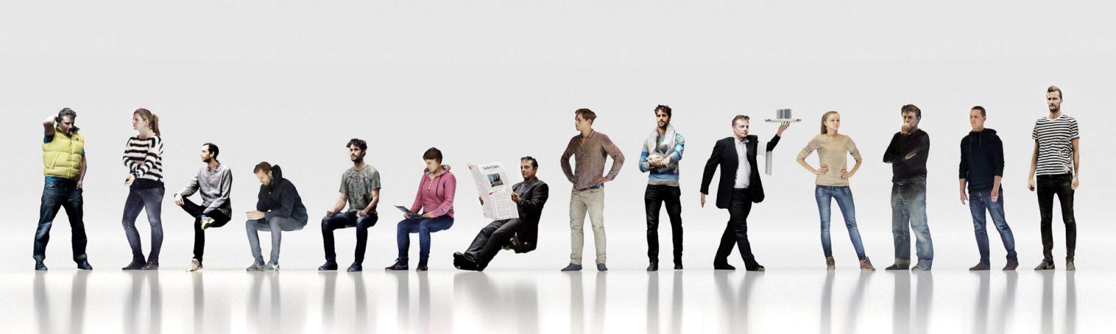 Xoio Air 3d Scanned People Improved Version Xoio Air